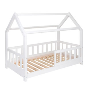 Solid wooden Housebed Deluxe 80×160